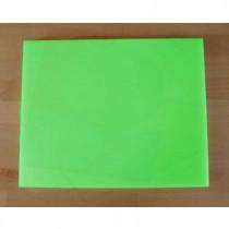 Tagliere in polietilene rettangolare 40X50 cm verde - spessore 10 mm
