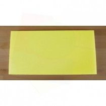 Tagliere in polietilene rettangolare 40X80 cm giallo - spessore 25 mm