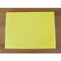 Tagliere in polietilene rettangolare 30X40 cm giallo - spessore 25 mm