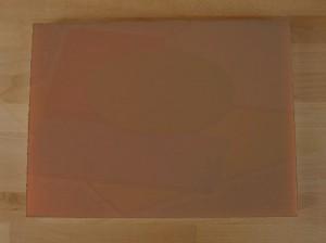 Tagliere in polietilene rettangolare 30X40 cm marrone - spessore 10 mm